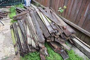 Firewood - old hardwood fence Some Left! take all or some North Willoughby Willoughby Area Preview