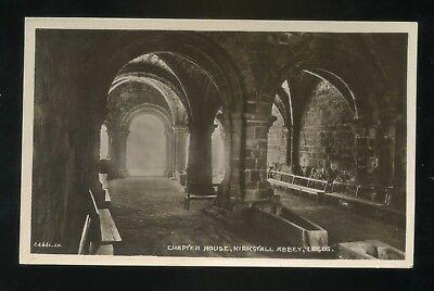 LEEDS Kirkstall Abbey   Chapter House  RP