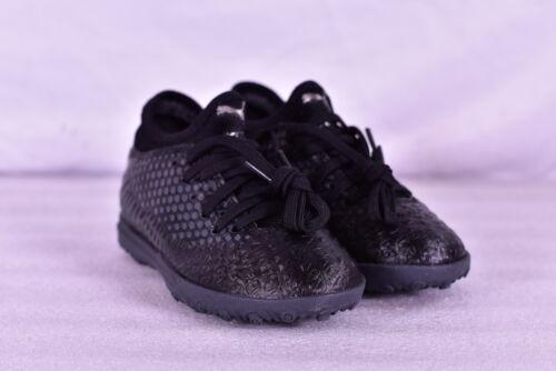 Youth Boy's Puma Future 4.4 TT Turf Soccer Shoes, Black