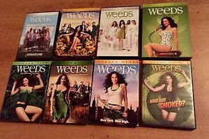 Weeds DVD Complete Collection Seasons 1-8