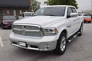 2017 Ram 1500 Laramie DIESEL,NAVIGATION,SUNROOF,ONLY 8000 KM'S !