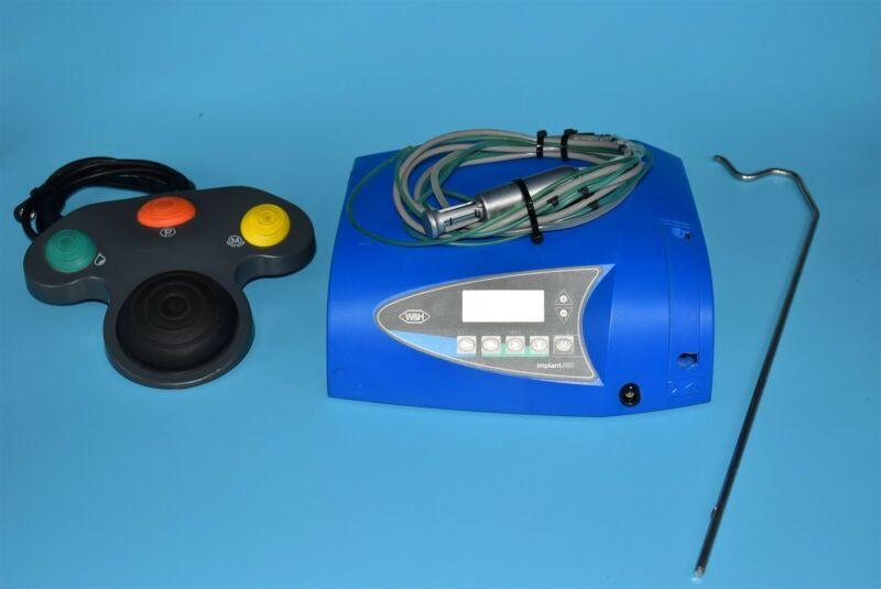 W&H SI-915 2006 Implant Dental Electric Control Console & Motor System 120V