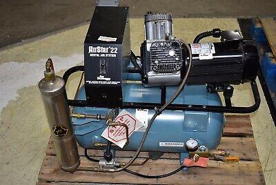 Air Techniques Airstar 22 Dental Air Compressor Oil-free 1.5hp 2007 Unit