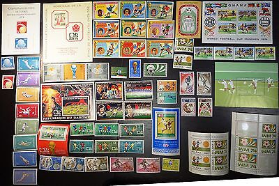 Collection 1974, World Cup, soccer, football, MNH (03)