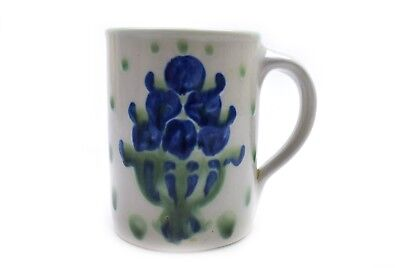M A Hadley Pottery Mug Blue Bouquet Blueberry  for sale  Bend
