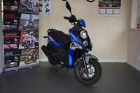 Sym Crox 125cc | Learner Legal | Scrambler Style | Sports Scooter | Chunky Tyres