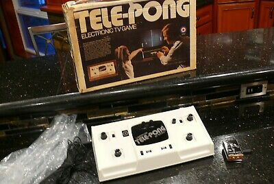 ENTEX TELEPONG  Vintage Video Arcade Game  Console Computer System✨VERY RARE✨
