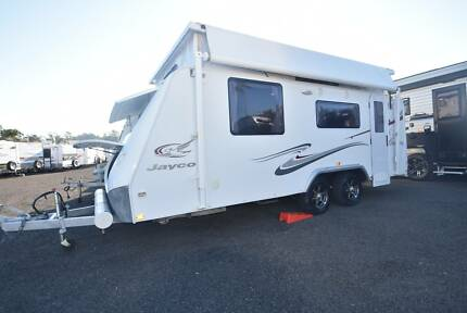 2010 JAYCO STERLING 18'6 SHOWER & TOILET DUAL AXLE POPTOP CARAVAN Forest Glen Maroochydore Area Preview