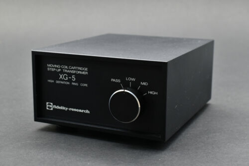 Fidelity Research FR XG-5 MC Step Up Transformer