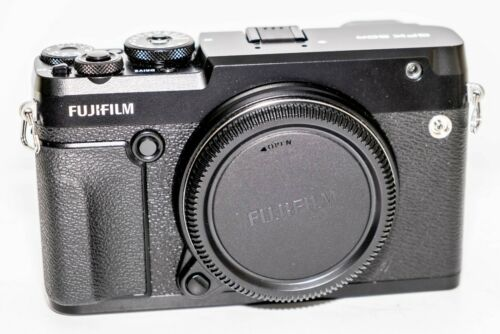 Fujifilm GFX 50R 51.4MP Digital Camera - Black (Body Only)