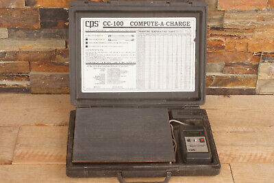 Cps Products Cc-100 Compute-a-charge Refrigerant Scale