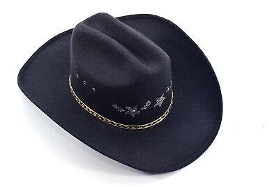 Renegade Cowboy Hat XX Fur Blend 90/% Wool 10/% Fur Sz 7 1//4 USA Made New With Tag