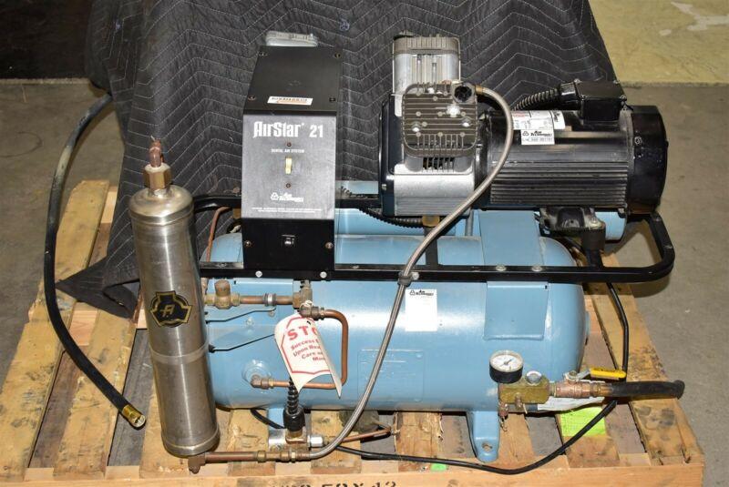 Air Techniques AirStar 21 Dental Air Compressor REFURBISHED 1 YEAR WARRANTY 115V