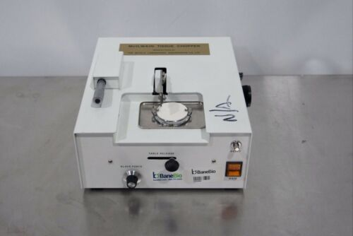 Mickle Laboratory Mcilwain Tissue Chopper
