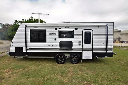 2017 NEXTGEN LTD EDITION 19'6 FULL ENSUITE SEMI OFF ROAD CARAVAN