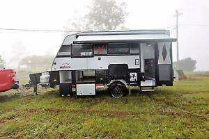 2017 14'6 NextGen X Hybrid Shower/Toilet Off Road Caravan Gympie Gympie Area Preview