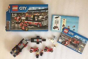 LEGO City 60084 Racing Bike Transporter Complete Set Instructions