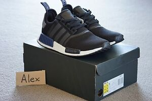 US 9.5 | 10 | 12.5 Adidas NMD R1 Black Blue Melbourne CBD Melbourne City Preview