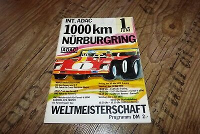 Nürburgring ADAC 1000 KM Rennen 1975 BMW 3,5 l CSL Coupe