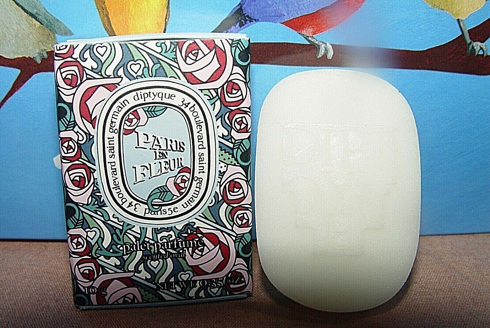 Diptyque Paris En Fleur Perfumed Oval Wax Miniature 10g/.35oz - $16.98