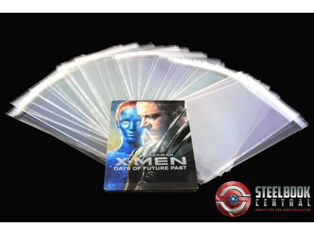 SW1 Premium Blu-ray/DVD Steelbook Protective Wraps / Sleeves (Pack of 50)