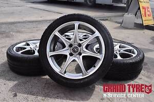 """17"""" rodney Jane alloy wheels and tyres 4x100 Mazda , toyota ... Dandenong Greater Dandenong Preview"""