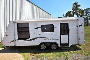 2007 GALAXY STARION 20' FULL ENSUITE TANDEM AXLE CARAVAN Gympie Gympie Area Preview