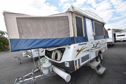 2008 JAYCO FLAMINGO OUTBACK SINGLE AXLE WIND UP CAMPER Forest Glen Maroochydore Area Preview