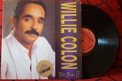 WILLIE COLON ** The Best II ** RAREST & SCARCE 1994 Colombian LP RUBEN
