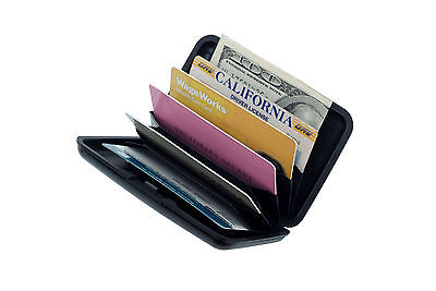 Waterproof Business ID Pocket Credit Card Wallet Holder Aluminum Metal RFID Case