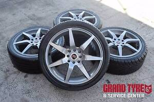 """17"""" shift Racing Alloy whels and tyres 4x100 4x114.3 Suitable ... Dandenong Greater Dandenong Preview"""