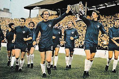 CHELSEA FOOTBALL TEAM PHOTO 1970-71 SEASON