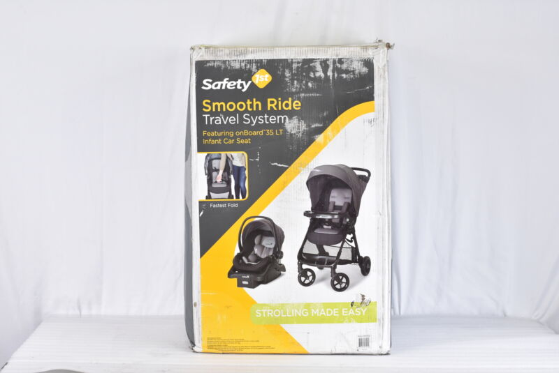 Safety 1st Smooth Ride Travel System featuring Onboard 35 LT Infant Car Seat