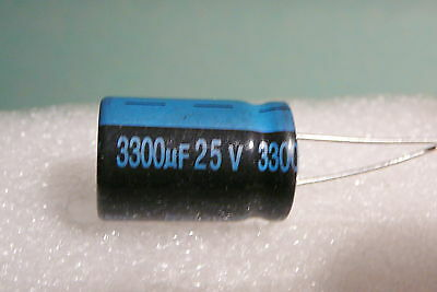 3300 Uf 25v 3300 Mfd Lot Of 6 Pcs Jamicon Radial Capacitors 105c Usa Free Ship