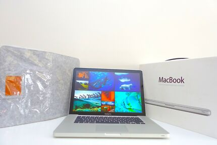 "MacBook Pro 15"" 2011 750gb 8gb Intel i7 + CLEAN + case!"