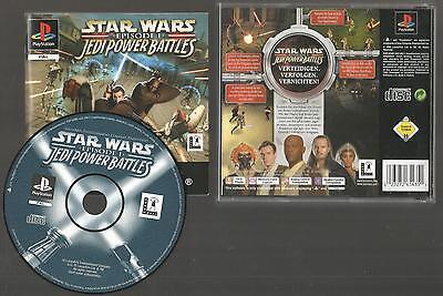PS1 / STAR WARS EPISODE 1 - JEDI POWER BATTLES