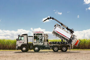 Volvo FMX11 8,000Lt NDD Jetter Combo Vacuum Tanker Ormeau Gold Coast North Preview