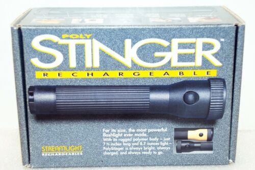 Streamlight 76501 PolyStinger Flashlight with AC Charger, Black - 90 Lumens