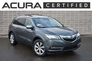2015 Acura MDX AWD Elite   Certified Pre-Owned