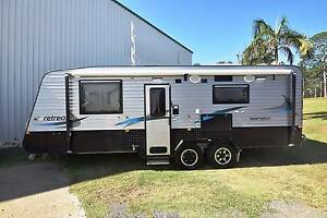 2015 RETREAT BRAMPTON 22' SEMI OFF ROAD FULL ENSUITE CARAVAN Gympie Gympie Area Preview