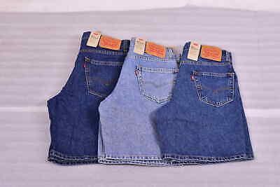Men's Levi's 550 Relaxed Fit Denim Jean Shorts - Choose Color & Size Cotton Jean Shorts