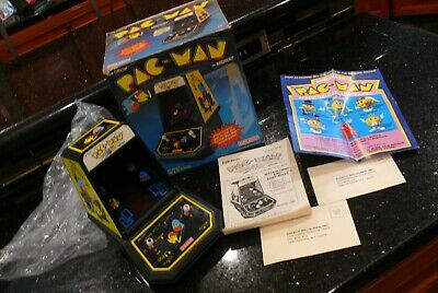 COLECO PAC MAN Vintage Electronic Handheld Arcade Tabletop Video game ✨IN BOX✨ 2