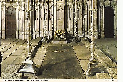 Postcard - Durham Cathedral - St. Cuthbert's Tomb