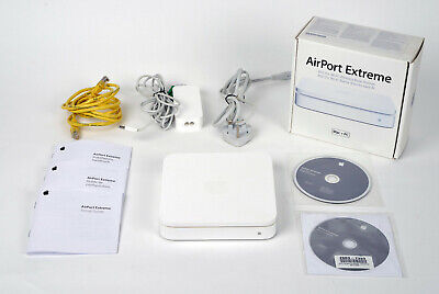 Apple Airport Extreme A1143 Gigabit 802.11n (2nd Gen) Router - Boxed