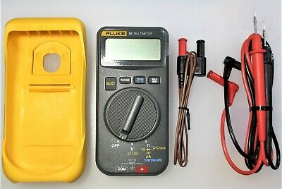 Fluke 16 Multimeter Tl75 Test Lead Set 80bk-a In Excellent Condition