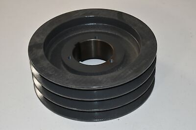 Browning Sheave 3tc86 Bushing Bore V-belt Pulley 9 Od 3 Groove Split Taper