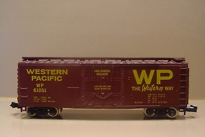 N Scale Atlas Single Door' Boxcar Western Pacific  61051 for sale  Marionville