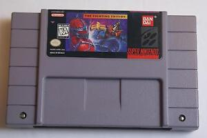 Power Rangers Fighting Edition - Super Nintendo (SNES) Game