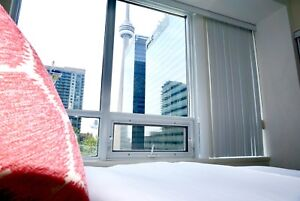 2 bed 2 bath with CN Tower view!