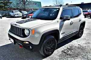 2017 Jeep Renegade Trailhawk DESERTHAWK PACKAGE, LEATHER, NAVIGA